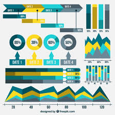 Useful Charts Collection Of Useful Charts Graphs For Infographics Vector