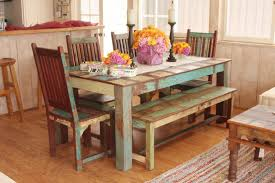 mediterranean dining room furniture. Indian Reclaimed Wood Dining Set Mediterranean Room Los Angeles By Tara Design Furniture T