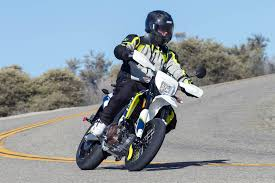 2016 husqvarna 701 supermoto and 701 enduro md first ride