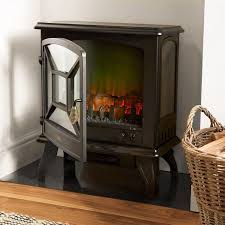 1800w black panoramic stove heater w 2 year warranty now 39 99 delivered vonhaus