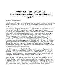 Ideas Collection Examples Of Letters Recommendation For College