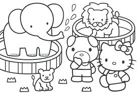 Fun Colouring Pages For Kindergarten Kids Coloring Pages Animals ...