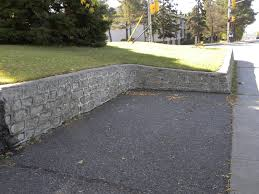 Sunshiny A Very Concrete Block Retaining Wall Note How To Build A Cinder  Block Retaining Wall