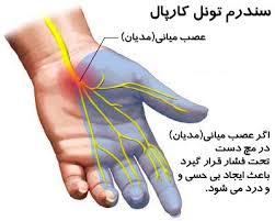 نتیجه تصویری برای درد کف دست