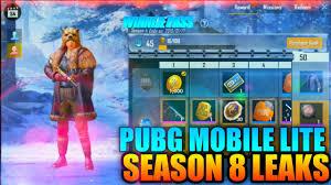 Pubg Mobile Lite Winner Pass Season 8 ...