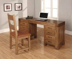plan rustic office furniture. Santana Oak Computer Desk Dressing Table Intended For Solid Plan 11 Rustic Office Furniture