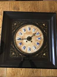french wall clock c 1840