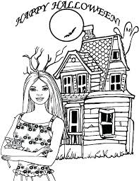 Free Online Printable Coloring Pages Halloween For Toddlers Sheets