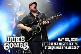 Luke Combs Seating Chart Luke Combs Dte Energy Music Theatre