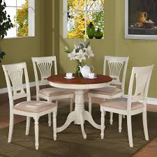 round table dining room furniture. Round Table Dining Set With Microfiber Seat Chairs. View Larger Room Furniture