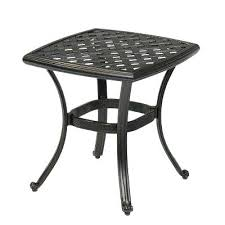 patio end tables metal metal square outdoor side table round metal patio side tables small outside