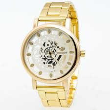 online get cheap ladies gold color watches men aliexpress com excellent quality new watches gold color mens watches casual luxury ladies watches steel women dress watches