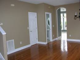 Wonderful Interior Paint Color Schemes With Concrete Flooring ...