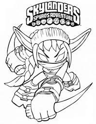 Skylanders Spyros Adventure Coloring Pages 8 Kleurplaat Jonas