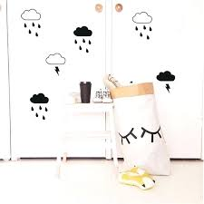 cute wall decals cloud with rain wall decals lightning raindrop cloud wall cute wall decals for cute wall decals