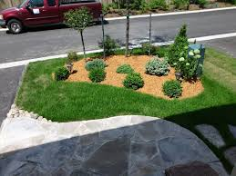 Small Picture Landscaping Ideas on A Budget the Front Garden front yard