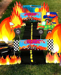 Best Monster Truck Party Images On Pinterest Monster Trucks