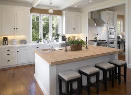 butcher block kitchen island home