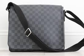 louis vuitton messenger bag. louis vuitton damier graphite district mm messenger. hover to zoom messenger bag