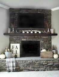 3 1000 ideas about corner stone fireplace on the stylish brick designs remarkable