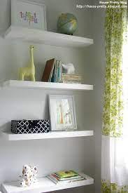 floating shelves nursery shelves