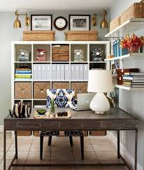 home office wall shelves. Office Wall Organization Ideas. Organize Home With Shelves Cabinet And Basket Wicker Ideas