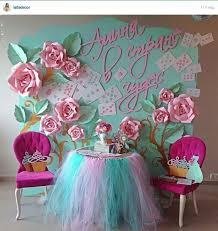 Hanging Paper Flower Backdrop Diy Paper Flower Crafts And Projects Pink Lover