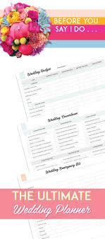 Best 25 Wedding Planner Checklist Ideas On Pinterest Wedding