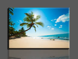 aliexpress com unframed 1 piece hot ing beautiful beaches wall decor oil painting canvas art hd picture print paintings home decorations from