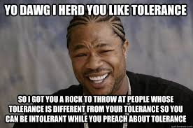 Tolerance of Intolerance? - Off-Topic - Comic Vine via Relatably.com