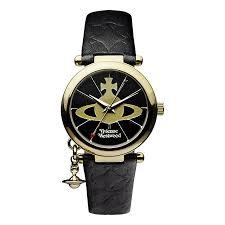 vivienne westwood watches ernest jones vivienne westwood ladies gold plated orb strap watch product number 9732799