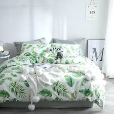 spring leaves series sheet pillowcase quilt cover set cotton bedding sets single queen full double size cotton quilts twin size quilt sets
