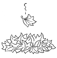 Small Picture Coloring Pages Excellent Fall Leaf Coloring Pages Fall Leaves