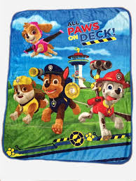Paw Patrol Throw Blanket