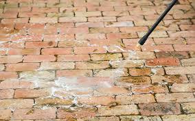 apply detergent how to clean brickwork