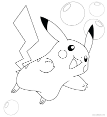 Pokemon Pikachu Coloring Pages And And Coloring Page Pikachu Pokemon