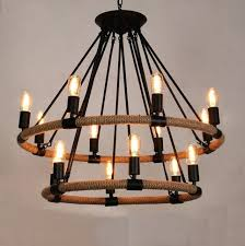 edison style lighting retro industrial lamp rope vintage pendant light cafe bar loft uk