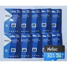 COMBO 10 THẺ NHỚ MICRO SD NETAC 32GB - HÀNG CHÍNH HÃNG | Dien Tu Hoang  Thinh