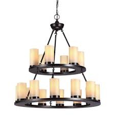 pillar candle chandelier home depot awesome sea gull lighting ellington 18 light burnt sienna round chandelier