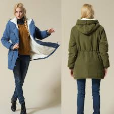 2018 las coats jackets army green winter coat women 2017 female cotton hooded jacket padded parka casual coat from johnbob1994 31 16 dhgate com