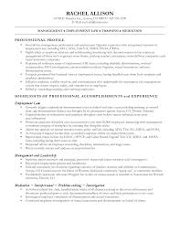 Sample Resume Workers Compensation Paralegal Resume