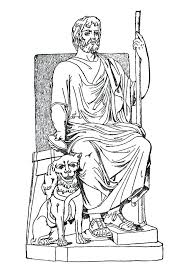God Love Coloring Page Source Real Steel Zeus Pages Statue Of At ...