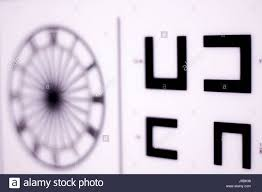 Opticians Ophthalmology And Optometry Eye Test Chart To Test
