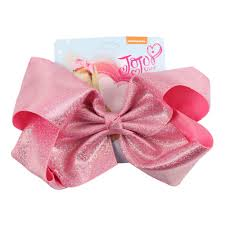 8 solid mermaid hair bows for girls kids boutique metallic leather hair grips