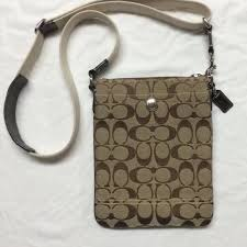 🔴SOLD🔴 COACH Hampton C Print Crossbody Handbag