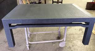 Grasscloth Coffee Table Wrapped Furniture Art Applications Inc