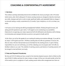 coaching contract template 9 download free documents in pdf wedding catering contract sample