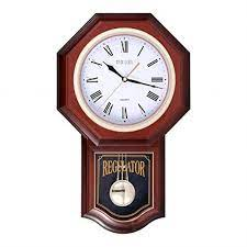 pendulum wall clock with chimes meidi