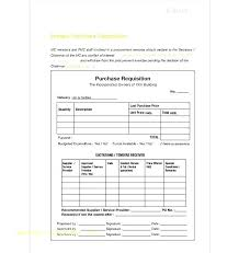Purchase Request Form Template Excel Purchase Request Template