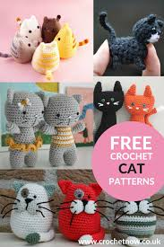 Free Crochet Cat Patterns Cool The Cats Collection Free Crochet Patterns Projects To Try